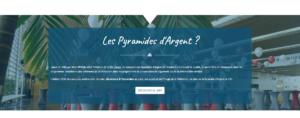 PYRAMIDES D'ARGENT